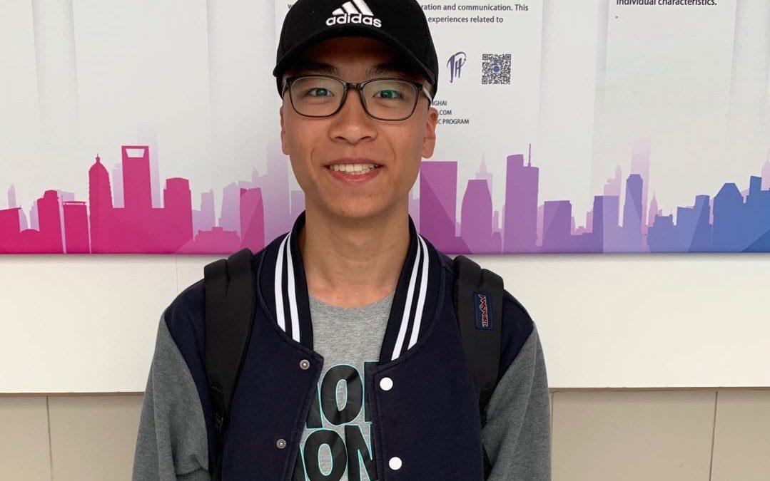 Star student—Ryan Cheng